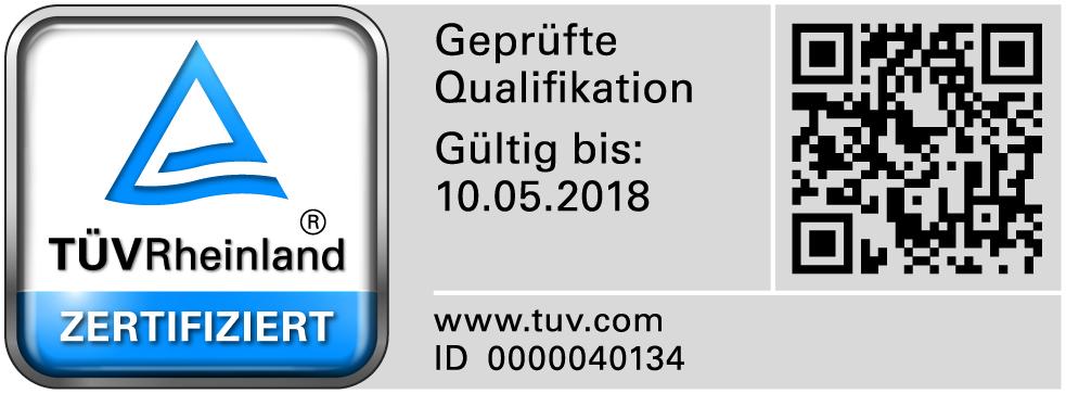 Zertifikat Dirk Munker